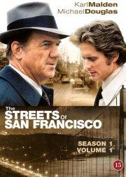 the streets of san francisco - sæson 1 vol. 1 - DVD