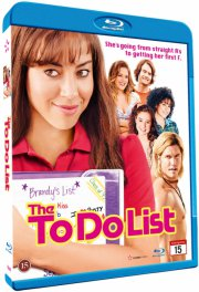 the to do list - Blu-Ray