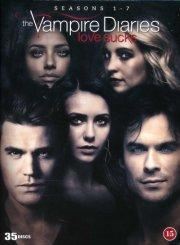 the vampire diaries - sæson 1-7 - DVD