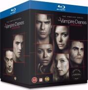 the vampire diaries - sæson 1-8 - Blu-Ray