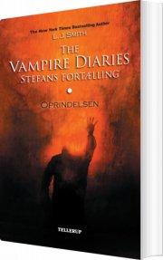 the vampire diaries - stefans fortælling #1: oprindelsen - bog