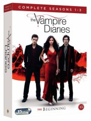 the vampire diaries - the beginning - sæson 1-3 - DVD