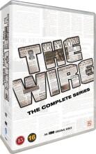 the wire - den komplette serie - sæson 1-5 - hbo - DVD