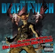 five finger death punch - the wrong side of heaven and the righteous side of hell - vol. 2 - cd