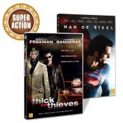 man of steel // thick as thieves - DVD
