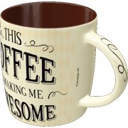 this coffee is making me awesome - kaffekrus - Til Boligen