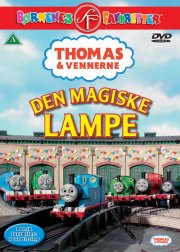 thomas og vennerne 19 - den magiske lampe - DVD