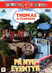 thomas tog - på nye eventyr - DVD
