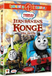 thomas og vennerne / thomas and friends - jernbanens konge - DVD