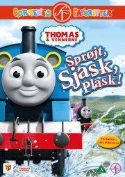 thomas og vennerne / thomas and friends - 37 - sprøjt, sjask, plask - DVD