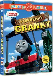 thomas og vennerne / thomas and friends - knirkende cranky - DVD