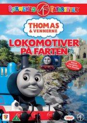 thomas og vennerne / thomas and friends - lokomotiver på farten - DVD
