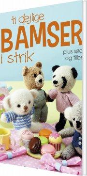 ti dejlige bamser i strik - bog