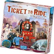 ticket to ride: asia - brætspil - Brætspil