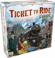 ticket to ride brætspil - europa - Brætspil