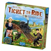 ticket to ride: nederland - brætspil - Brætspil