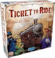 ticket to ride spil - nordamerika - Brætspil