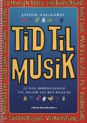 tid til musik, sangbog - bog
