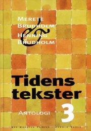 tidens tekster 3 - bog