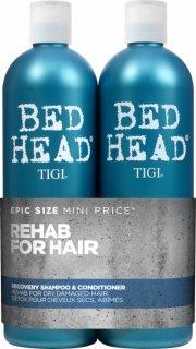 tigi bed head urban anti-dotes recovery shampoo & conditioner - 750 ml - Hårpleje