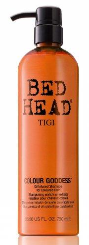 tigi bed head colour goddess oil infused shampoo - 750 ml - Hårpleje