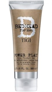tigi bed head for men power play firm finish gel - 200 ml - Hårpleje