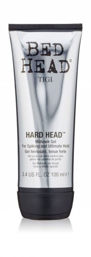 tigi bed head hard head mohawk gel - 100 ml - Hårpleje