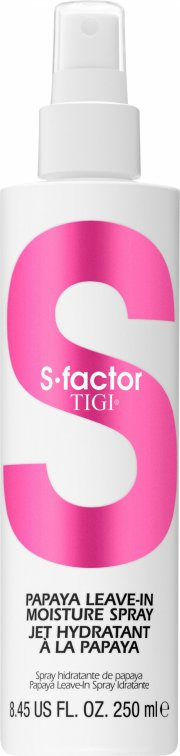 tigi s-factor papaya leave-in moisture spray - 250 ml - Hårpleje