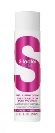 tigi s-factor true lasting colour shampoo - 250 ml - Hårpleje