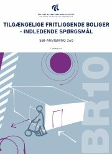 tilgængelige fritliggende boliger - indledende spørgsmål - bog