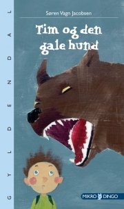 tim og den gale hund - bog