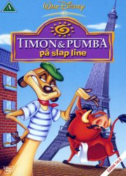 timon og pumba på slap line / dining out with timon and pumbaa - DVD