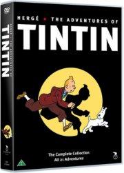 tintin boks / box - DVD