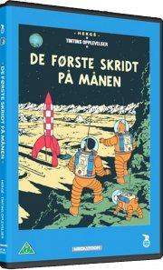 the adventures of tintin - explorers on the moon / de første skridt på månen - DVD