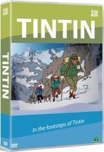 tintin en eventyrrejse i tintins fodspor / in the footsteps of tintin - DVD