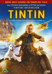 tintin - enhjørningens hemmelighed / the secret of the unicorn - DVD