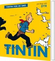 tintin for de små: en bog om dyr - bog