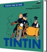 tintin for de små: en bog om transportmidler - bog