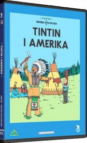 the adventures of tintin - tintin i amerika - DVD