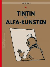 tintin og alfa-kunsten - Tegneserie