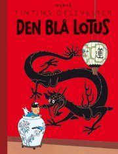 tintins oplevelser: den blå lotus - bog