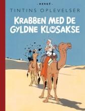 tintins oplevelser: krabben med de gyldne klosakse - bog