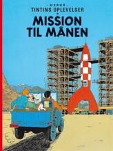 tintins oplevelser standardudgave: mission til månen -, ny oversættelse - Tegneserie