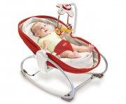 tiny love skråstol - 3in1 rocker napper - rød - Babyudstyr