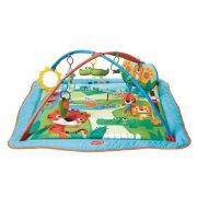 aktivitetstæppe / legetæppe til baby - tiny love - kick play city safari - Babylegetøj