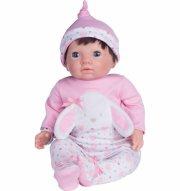 tiny treasure babydukke - pink - Dukker
