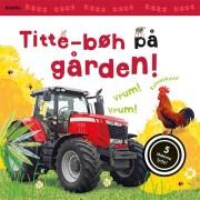 titte-bøh på gården! med 5 skønne lyde - bog