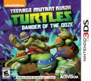 tmnt: danger of the ooze - nintendo 3ds