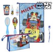 mickey mouse toilettaske med tilbehør - 7 dele - Diverse