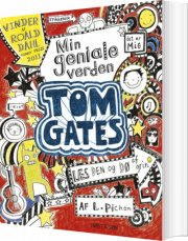tom gates - min geniale verden - bog